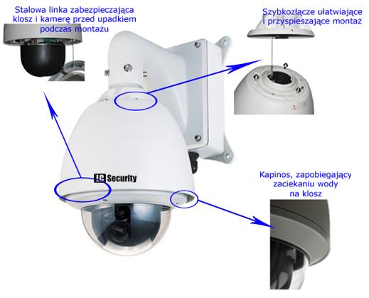 LC 15-CD55W-36X-IP - Kamery obrotowe IP