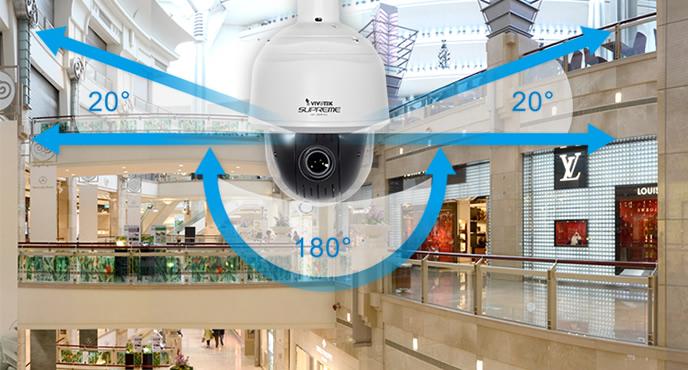 Vivotek SD8363E - Kamery obrotowe IP